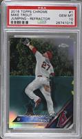 Mike Trout (Robbing HR) [PSA10]