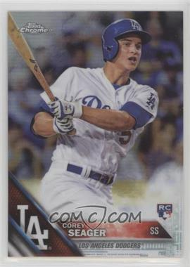2016 Topps Chrome - [Base] - Refractor #150 - Corey Seager