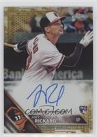 23c61fdd9 Joey Rickard Autographed Baseball Cards