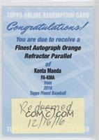 Kenta Maeda /25 [REDEMPTION Being Redeemed]