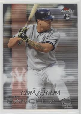 2016 Topps Finest - [Base] #64 - Gary Sanchez
