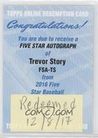 Trevor Story [Being Redeemed]