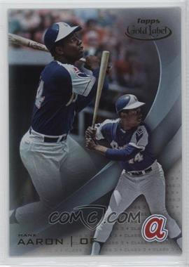 2016 Topps Gold Label - [Base] - Class 3 #84 - Hank Aaron