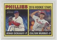 Rookie Stars - Colton Murray, Jerad Eickhoff
