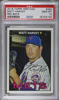 Matt Harvey [PSA 10 GEM MT]