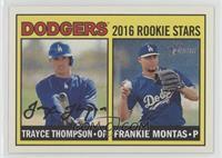 Rookies Stars - Frankie Montas, Trayce Thompson