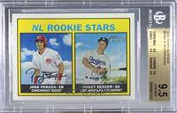 Rookie Stars - Jose Peraza, Corey Seager [BGS9.5GEMMINT]