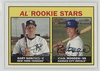 Rookie Stars - Gary Sanchez, Raul Mondesi
