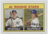 Rookies Stars - Gary Sanchez, Raul Mondesi (Base)