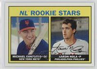 Rookies Stars - Michael Conforto, Aaron Nola (Base)