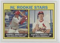 Rookies Stars - Darnell Sweeney, Stephen Piscotty (Base)