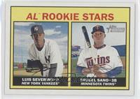 Rookie Stars - Luis Severino, Miguel Sano