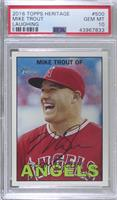 Mike Trout (Smiling) [PSA 10 GEM MT]