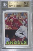 Mike Trout (Action - Running) [BGS 9.5 GEM MINT]