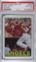 Mike Trout (Action - Running) [PSA 10 GEM MT]