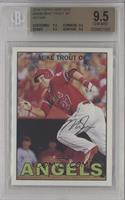 Mike Trout (Action - Running) [BGS9.5GEMMINT]