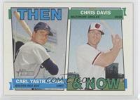 Chris Davis, Carl Yastrzemski