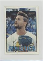Khris Davis /100