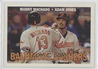 Manny Machado, Adam Jones