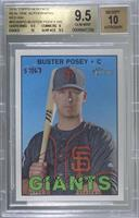 Buster Posey [BGS9.5GEMMINT] #/67