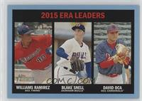 ERA Leaders - Williams Ramirez, Blake Snell, David Oca /99