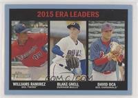 ERA Leaders - Williams Ramirez, Blake Snell, David Oca #/99