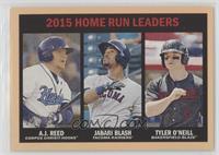 Home Run Leaders - A.J. Reed, Jabari Blash, Tyler O'Neill /25