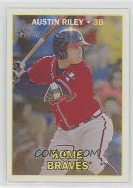 2016 Topps Heritage Minor League Edition - [Base] #69 - Austin Riley