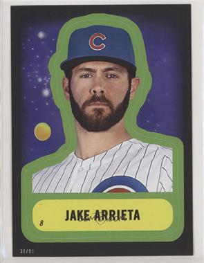 2016 Topps MLB Star Wars Tribute 5x7 - [Base] #8 - Jake Arrieta /99