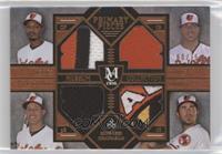 Manny Machado, Chris Davis, Adam Jones, J.J. Hardy /75