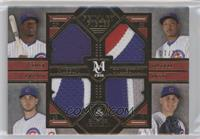 Jorge Soler, Addison Russell, Kris Bryant, Anthony Rizzo #/25