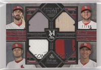 Matt Adams, Lance Lynn, Matt Carpenter, Michael Wacha /99