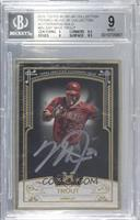 Mike Trout /15 [BGS9MINT]