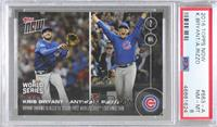 Kris Bryant, Anthony Rizzo [PSA 8 NM‑MT] #/4,516