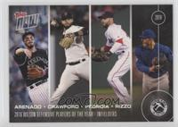 Award Winners - Nolan Arenado, Brandon Crawford, Dustin Pedroia, Anthony Rizzo …