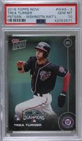 Trea Turner [PSA 10 GEM MT] #/288