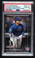 Willson Contreras [PSA 10 GEM MT] #/6,636