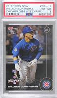 Willson Contreras [PSA 8 NM‑MT] #/6,636