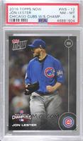 Jon Lester [PSA 8 NM‑MT] #/6,636