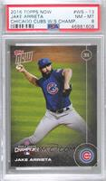 Jake Arrieta [PSA 8 NM‑MT] #/6,636