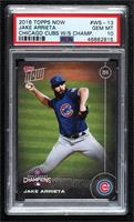 Jake Arrieta [PSA 10 GEM MT] #/6,636