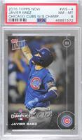 Javier Baez [PSA 8 NM‑MT] #/6,636