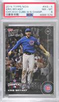 Kris Bryant [PSA 8 NM‑MT] #/6,636