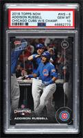 Addison Russell [PSA 10 GEM MT] #/6,636