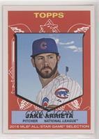 1959 Topps All-Star Design - Jake Arrieta #/946