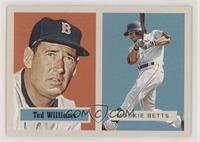 1957 Topps Football Design - Ted Williams, Mookie Betts #/769