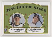1972 Topps Rookie Stars Design - Gary Sanchez, Tyler Naquin #/644