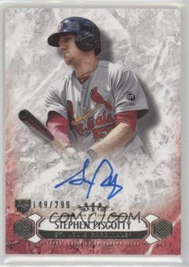 2016 Topps Tier One - Breakout Autographs #BOA-SPS - Stephen Piscotty /299