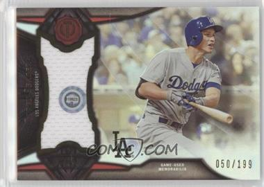 2016 Topps Tribute - Stamp of Approval Relics #SOA-CS - Corey Seager /199