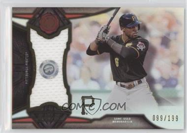 2016 Topps Tribute - Stamp of Approval Relics #SOA-SM - Starling Marte /199